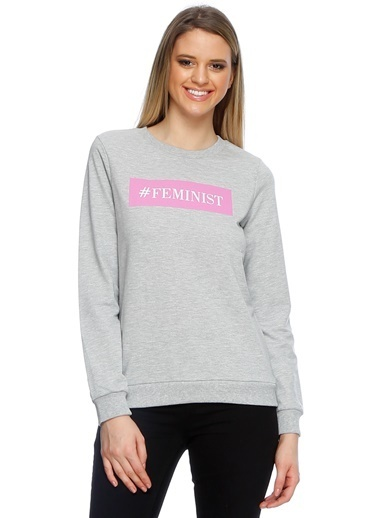 Vero Moda Sweatshirt Antrasit